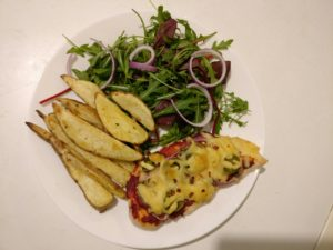 Pizza-topped Chicken