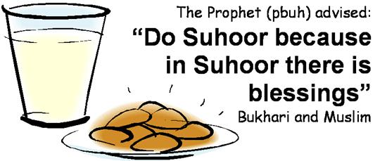 importance of suhoor