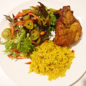 Spicy Rice and Chicken