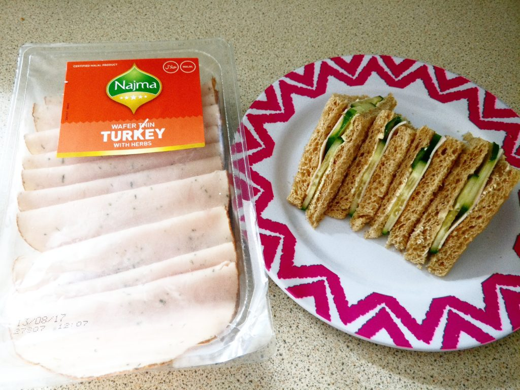 Najma Foods Turkey Slice sandwiches
