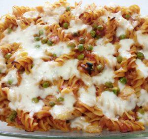 Mozzarella & Chilli Pasta