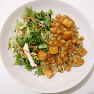 Chickpea & Paneer Curry