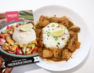 Firecracker Chicken with Jasmine Rice