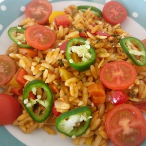Cajun Chicken & Orzo