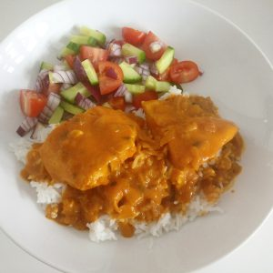 Fish & Coconut Curry