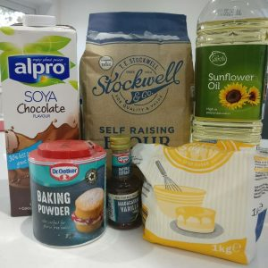 Vegan Cupcakes Ingredients