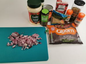 Quorn Chilli Ingredients